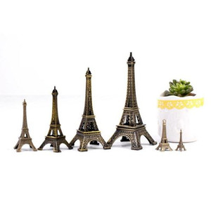 Wholesale 1pc Hot Sell Crafts Paris Eiffel Tower Model Creative Home Furnishing Ornaments Kids Gifts DIY Desk Decoration Accessories A35