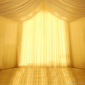 5x7ft Vinyl Wedding Yellow Light Tent Curtain Photography Studio Backdrop Background