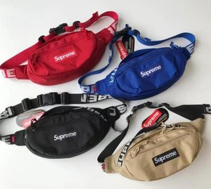 2018 18SS Waist Bag 3M 44th Sup Brand Unisex Fanny Pack Fashion Canvas Hip-Hop Belt Men Messenger Bags 17AW Small Shoulder Bag Waistpacks