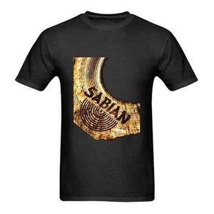 Wholesale Sabian Cymbal Drums Tshirt New Men s Tshirt Tee Size S to XL