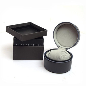 Exquisite watch box with original! Quality craftsmanship and perfect styling, black boxes, books and cards, retail and wholesale: free shipp