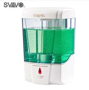600ml Capacity Automatic Soap Dispenser Touchless Sensor Hand Sanitizer Detergent Dispenser Wall Mounted For Bathroom Kitchen