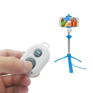 3 in 1 Wireless Bluetooth Selfie Stick Foldable Selfiestick for iPhone Samsung Huawei Remote Handheld Mobile Phone Mini Tripod