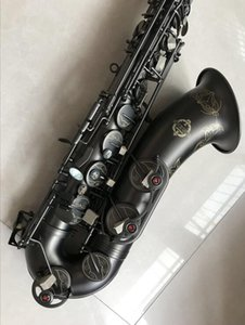 Wholesale New Japanese SUZUK Tenor Saxophone B flat Music Woodwide instrument Black Nickel Gold Sax Professional