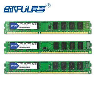 Wholesale ddr3 4gb 1333 Binful Original New Brand DDR3 4GB 1333 1066mhz 1600mhz 3-8500 PC3-10600 PC3-12800 for Desktop RAM Memory 1.5V
