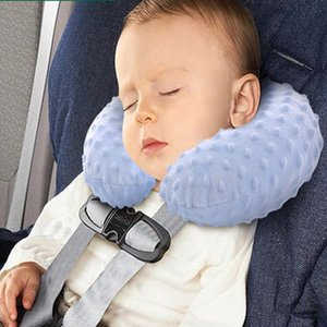 Baby Pillow Inflatable Child Safety Seat Neck Pillow Headrest Travel Car Seat Soft Baby Protection Stroller Accessories