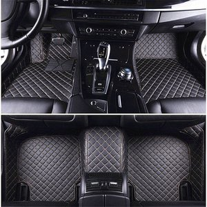 Wholesale 3D Luxury Custom Car Floor Mats for BMW 118 120 218 220 318 320 330 525 528 730 740 750 M and GT series Tapete Carro Universal Floor Mat