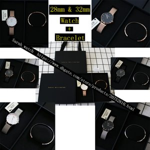 Wholesale Best Version Combination mm mm Women Watch Women Bracelet Black Box Black Bag