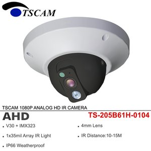 Wholesale TSCAM 4in1 AHD TVI CVI CVBS 1080P 2MP ANALOG Dome HD IR CCTV Camera Metal Security Surveillance Waterproof Array infrared