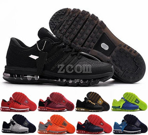2019 Chaussures Mens Running Shoes BENGAL Orange Grey Black Gold Shoes 2017 KPU Cushion Sports Sneakers Trainers Athletic Size 7-13