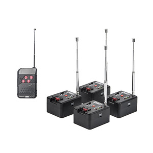 Wholesale 4 Cues Remote Wireless Fireworks Firing system Sequential Fire Wedding equipment stage equipment