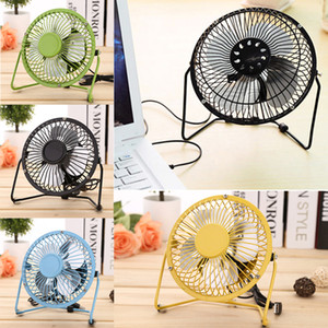 4 inch Mini USB Fan Portable Cooler Table Desk USB Cooling Fans Personal Gadgets Super Mute Silent For Notebook PC Laptop