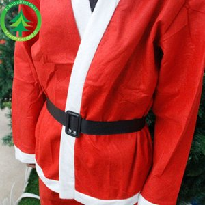 Christmas Santa Claus costume, Santa Claus dress, non-woven Christmas hat, clothing beard on Sale