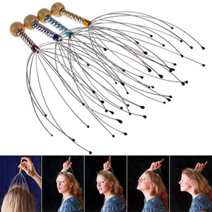 Anti-stress Massager Body Massager Octopus Head Scalp Neck Equipment Stress Release Relax Massager Tens Pain Relief Head Care