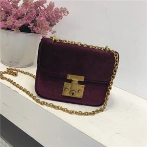 New 2018 women velvet shoulderbags fashion bags 4 colors free shipping high quality luxury hot selling retail and whosale