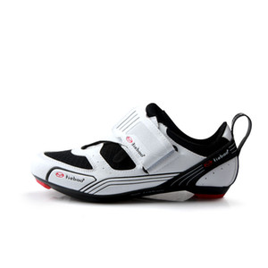 wholesale 6-1691 New Triathlon Road Bicycle Shoes Outdoor Racing Road Triathlon Bike Shoes LOOK-KEO SPD-SL Cleat Cycling Shoes on Sale
