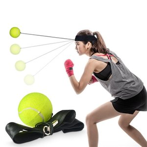 Wholesale Boxing Punch Exercise Elastic ball With Head Band For Reflex Speed Training Boxing ball Training Antistress ball T3I0285