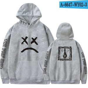 Wholesale Lil Peep Hoodies Love Male Men Sweatshirts Hooded Pullover Sweatershirts Male Women Sudaderas Cry Baby Hood Hoddie High Quality