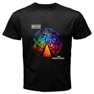 New MUSE *The Resistance Rock Band Men's Black T-Shirt Size S M L XL 2XL 3XL