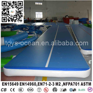 High Quality Hot Sale inflatable airtracks air tumble track gym mat