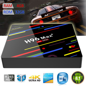 Wholesale H96 Max Android TV Box RK3328 Quad Core G WIFI GB GB Android K Ultra HD TV BOX
