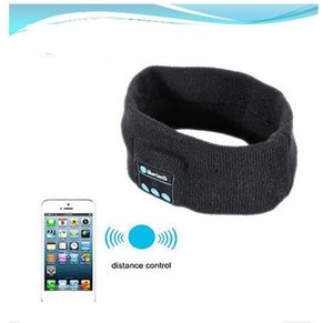 Wholesale Wireless Bluetooth Stereo Headphone Warm Sleep Headset Sport Headband with Mic Fast And