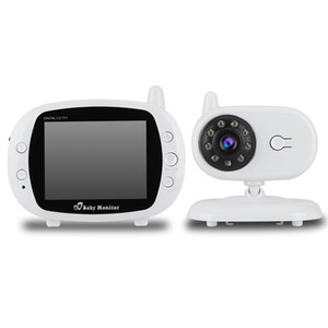 Wholesale New GS Inch LCD IR Night Vision Baby Monitor Wireless Video Temperature Detection Way Talk With Inch LCD HD Screen