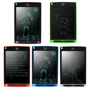 Wholesale 8 inch Portable LCD Writing Tablet Electronic Notepad Drawing writing Graphics Tablet Board with Stylus Pen CR2020 Battery