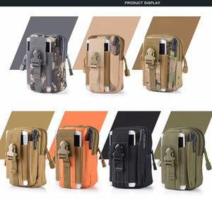 Wholesale For iPhone Samsung LG Universal Outdoor Tactical Holster Military Molle Hip Waist Belt Bag Wallet Pouch Purse Phone Case Zipper