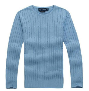 Wholesale new high quality mile wile polo brand men s twist sweater knit cotton sweater jumper pullover sweater men