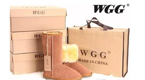 Wholesale Hot sell High Quality WGG Australia Women s Classic tall Snow Boots Womens boots winter to keep warm leather boots US SIZE