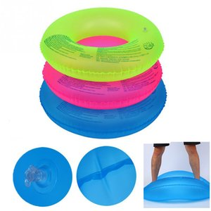 Wholesale 4 size kids Adult Inflatable Donut Swimming Ring PVC Giant Pool Float Swimming Circle Toys Beach Sea Summer Inflatable Mattress