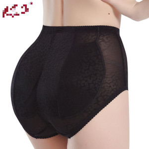 Wholesale 2 colors Sexy Panty Knickers Buttock Backside Bum Padded Butt Enhancer Hip Up Underwear Insert plump Panty