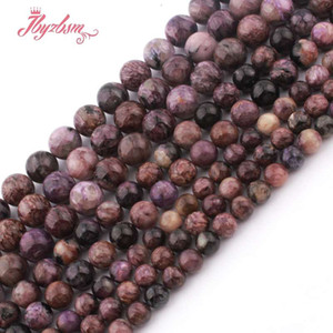 Wholesale 8 mm Smooth Round Ball Charoite Bead Natural Stone Beads For DIY Necklace Bracelets Earring Jewelry Making quot