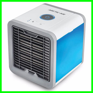 Wholesale Portable Mini Air Conditioner with Colors LED Lights USB Air Cooling Fans Air Cooler Fan Purifier Humidifier for Home and Office