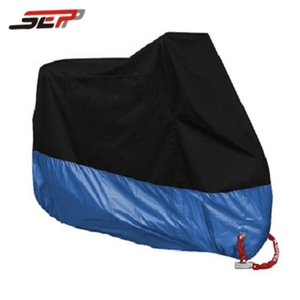 dark blue M,L,XL,2XL,3XL,4XL universal Outdoor Uv Protector Bike Rain Dustproof for Scooter Covers waterproof Motorcycle Cover