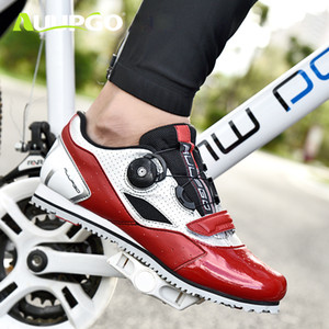 Non-lock leisure men women road bike cycling shoes professional MTB mountain bike shoes ultralight breathable non-slip on Sale