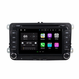 ingrosso lettore dvd auto-Quad Core din Android Car DVD Player per Volkswagen VW Golf Passat MK5 Polo Jetta Tiguan Caddy CC Skoda Fabia Octavia