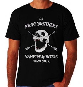 Frog Brothers Vampire Hunters Lost Boys 80's Party Funny Movie New Black T-Shirt
