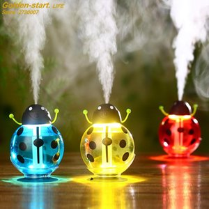 Beetles Style Colorful Household Ultrasonic Air Humidifier Portable Car Humidifier USB Essential Aroma Oil Diffuser Cartoon Air Humidifier