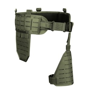 Wholesale 1000D Men s Tactical Belt Army Nylon Ultra wide tactical quick release breathable multi functional Belt Adjustable Soft Padded