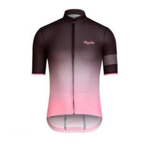 Wholesale RAPHA team Cycling Short Sleeves jersey Hot Sale breathable and quick drying mountain Bike Clothes free delivery T1629