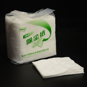 Wholesale Disposable Electrostatic Dust Removal Mop Paper Home Kitchen Bathroom Cleaning Cloth Replacement Mop Head Cloth