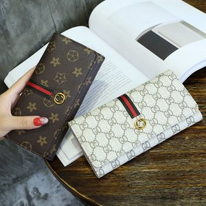 7ceb6be66 Women Wallet Luxury Brand Hot! wholesale 2018 famous brand fashion single  zipper cheap luxury designer