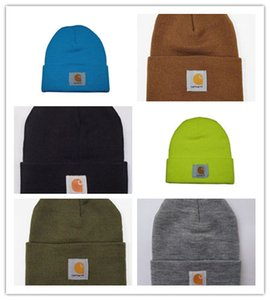 Wholesale Spring winter men fashion brand car Hart Women knitted hat casual Hip Hop outdoor warm skull caps female gorros Beanies