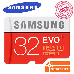 Samsung Original EVO+ Memory Card 32GB MB-MC32G EVO plus U3 128GB 256GB Class10 SDHC SDXC CCTV Camera Memory Card