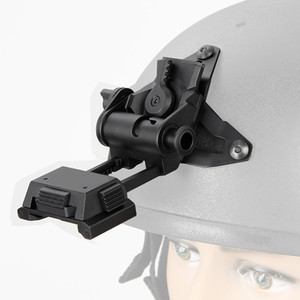 Wholesale New Arrival Aluminum Helmet Adapter NVG Mount System Helmet Bracket with Permanent VAS Shroud For Night Vision CL24