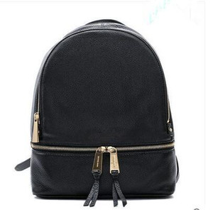 Wholesale Women Multifunction Backpack Leather Tassel Shoulder Bag Large Capacity Backbag Female Zipper School Bag Girl Travel Bag Mochila