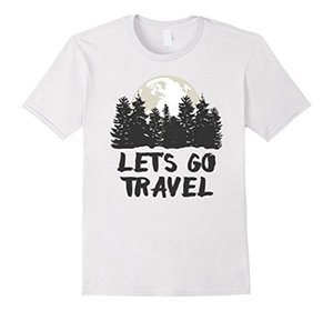 Wholesale Women s Tee Lets Go Travel Cool Traveling T shirt Design Summer New Sexy T Shirt Women Summer Style Hip Hop Brand Top Tees