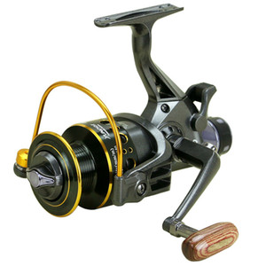 YUMOSHI 2018 New 10+1 BB Front and Rear Drag reels 3000 4000 5000 6000 Fishing Reels Spinning Wheel Sea Fishing Tackle Pesca